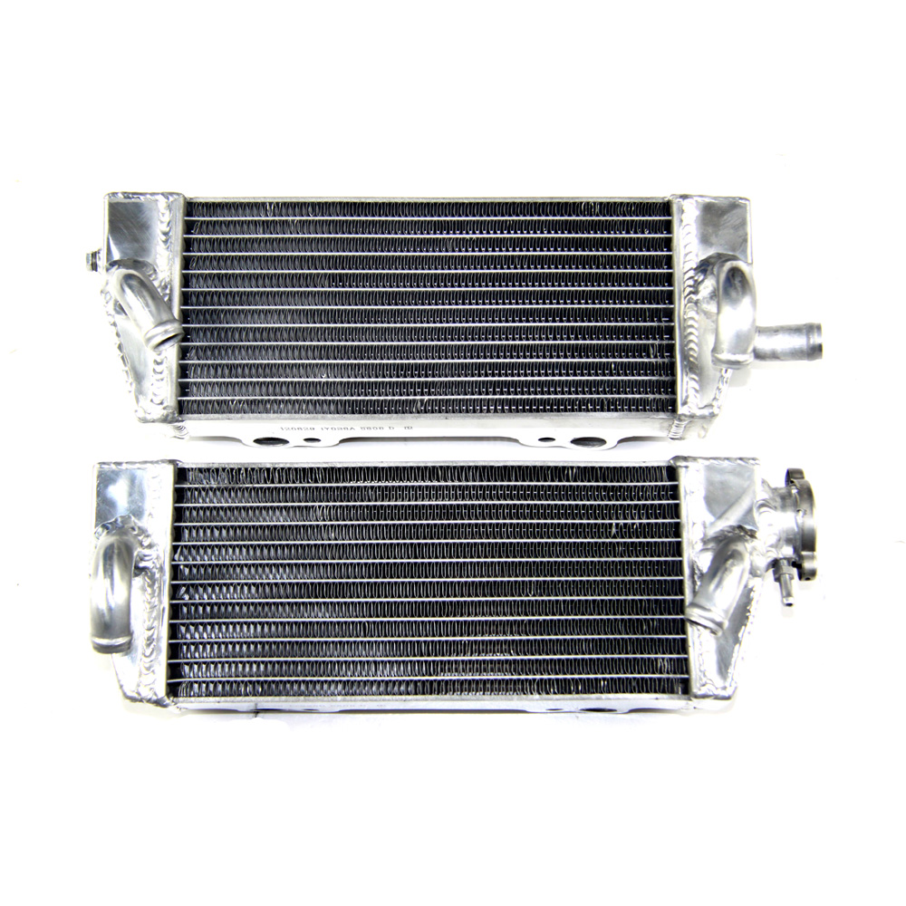 Motorcycle Aluminum Radiator For 125/200/250/300 SX/EXC/XC/MXC 1998-2007