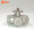 Made in china high quality 3 way 12VDC electric ball actuator valve for HVAC System
