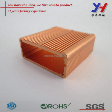 Custom OEM 6063 aluminum extrusion enclosure