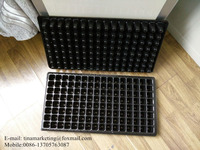 Durable HIPS Plastic Material Plant Nursery Seedling Tray/Plastic Vegetable Seed Growing Tray