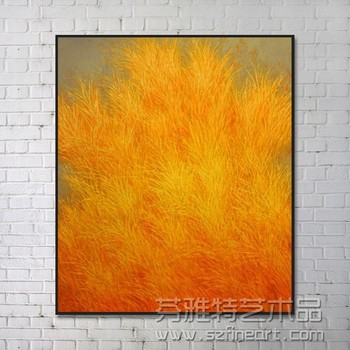 100% handmade wall art painting modern canvas landscape