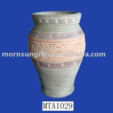 Terracotta tall design clay pottery