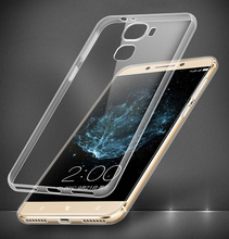 Soft Flexible Extremely Thin Gel TPU Transparent Skin Scratch-Proof Case for coolpad cool s1