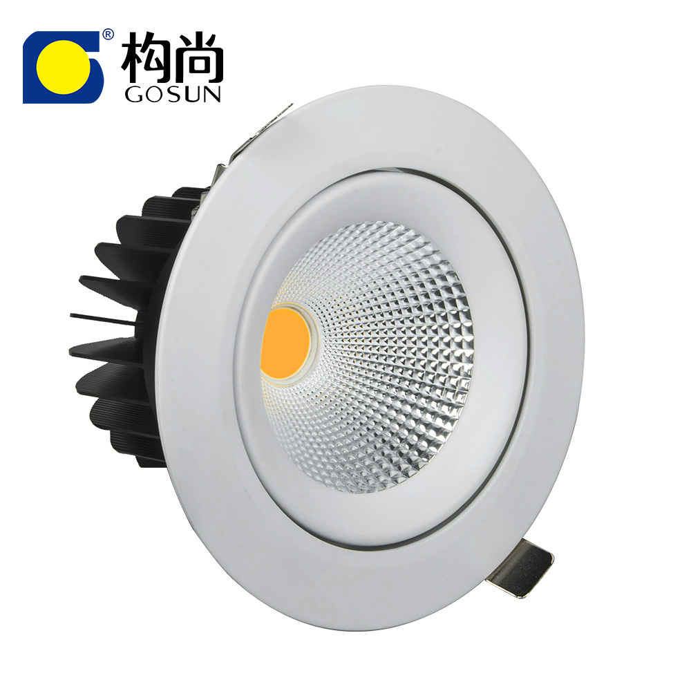 5 years warranty flicker free CRI80/90/97 anti-glare 30W (7-85W) LED downlight