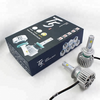Auto Three Color Temperature T5 Plus Led Car Headlight H7 Lamp