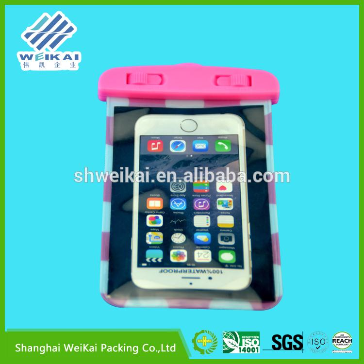 2015 new product PVC waterproof phone bag for wholesale