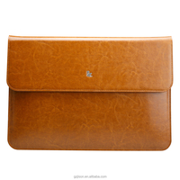 3 colors genuine leather handmade case for macbook air 13inch for macbook laptop protective cover