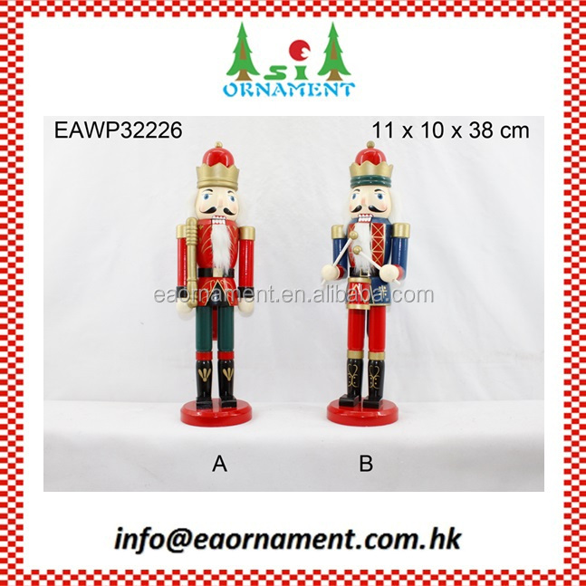 Christmas ornament of christmas wood nutcrackers