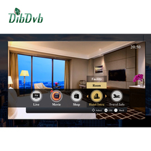 hotel iptv system for smart tv and stb live tv solution