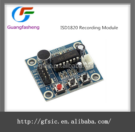 ISD1820 Voice / Sound Recording Module Hot sale