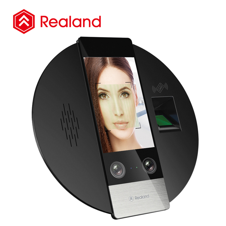 G705F Realand RFID Card face recognition sensor biometric fingerprint time attendance device