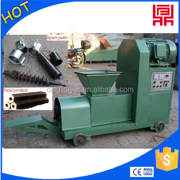 Supply biomass briquettes plant of coco shell briquette making machine