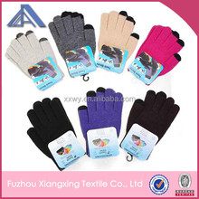 promotional smartphone finger touch gloves