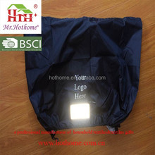 Promotional Waterproof Bicycle Basket Cover With Reflective