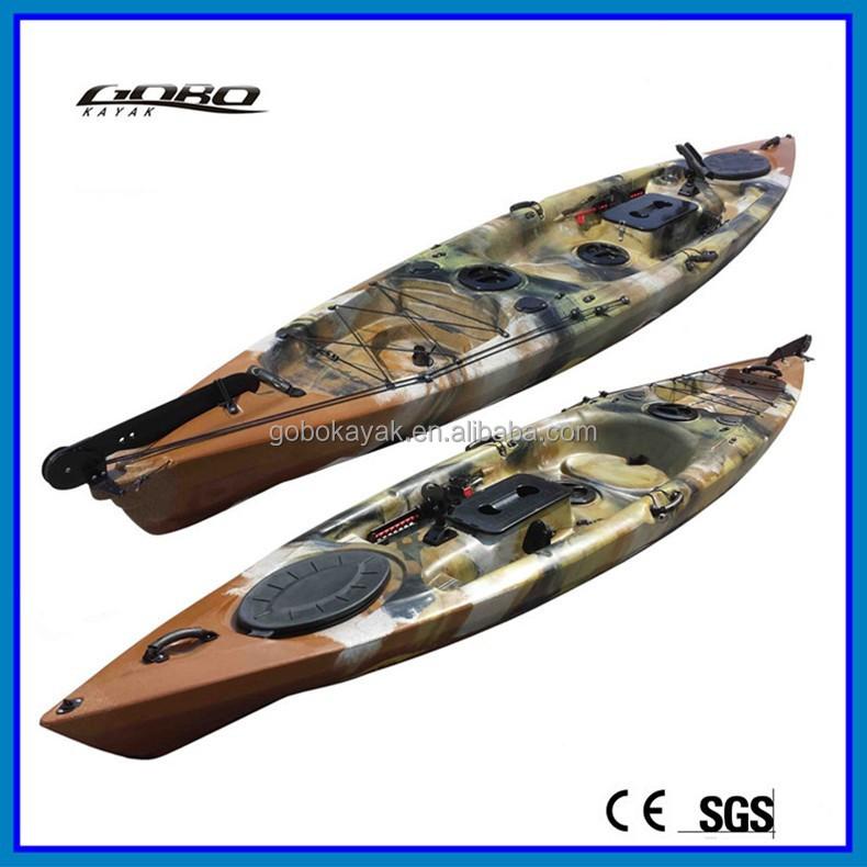 Plastic Fishing Kayak With Pedals Buy Pedal Kayak