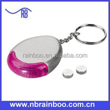 Whistle led keyfinder keychain with flash light for promotion ABL409
