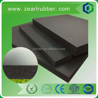adhesive backed rubbe sheet/gym foam rubber mat