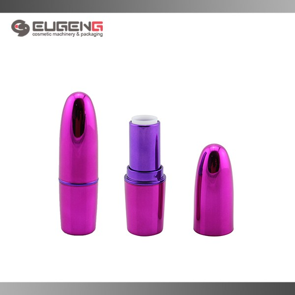 custom plastic lighted pink bullet lipstick tube