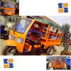 Hot 12hp Diesel driving tricycles 8-10 passenger use/cargo use for Africa market hot sell