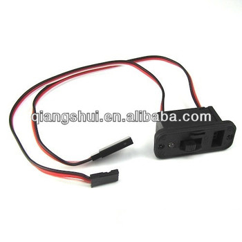 Heavy Duty RC Switch Receiver Battery On Off with Futaba Lead Connectors