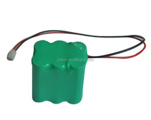NI CD rechargeable battery pack AA 7.2v 700mah