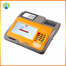 ARM Tablet pos terminal with wireless router function android pos terminal with keypad---Gc039C