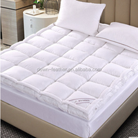 cheap double down feather bed mattress from China factory