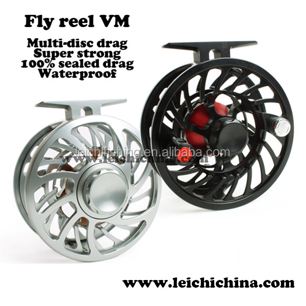 Multi-disc drag Saltwater sealed waterproof fly reel