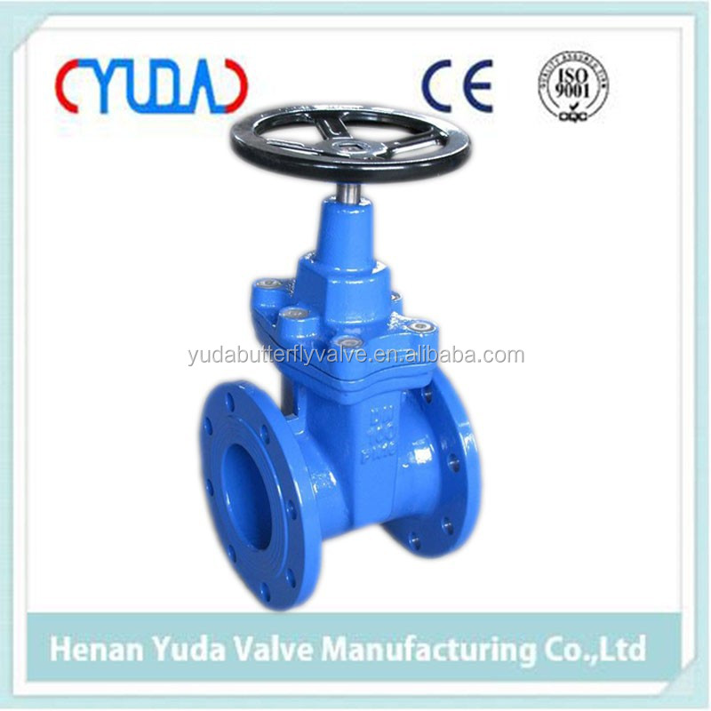 Metal Hard Seated Double Flange Rising Stem Gate Valve