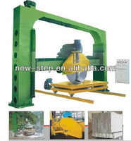 Horizontal and vertical stone cutting machine