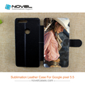 Top Quality Diy Leather Sublimation Phone Case for Google Pixel 5.5