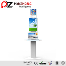 Free Stranding Multi-port Cell Phone Charging Kiosk with USB Dock