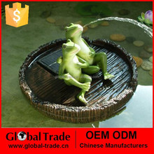 Resin Floating Frog Boys, Garden decoation in water G0230