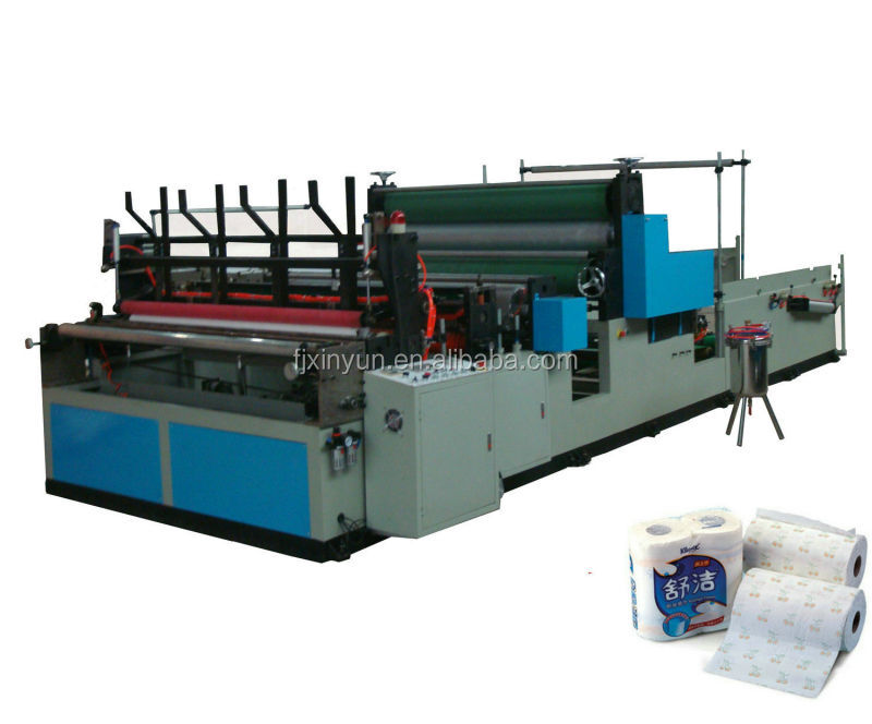 Full automatic kitchen paper towel making machine
