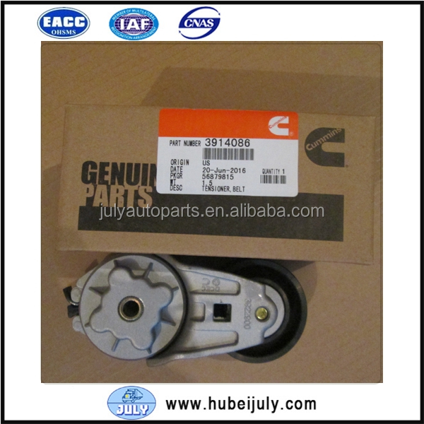 Good Quality DCEC Dongfeng Spare Parts Motor Engine Belt Tensioner 3914086 for Cummins 6BT 5.9