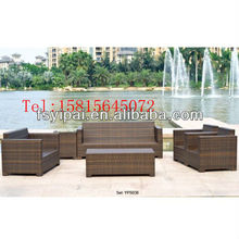 2013 The new special offer cheap woven rattan sofas YPS038