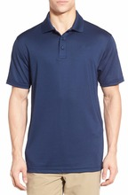 moisture-wicking lightweight polo shirts for men 100% cotton