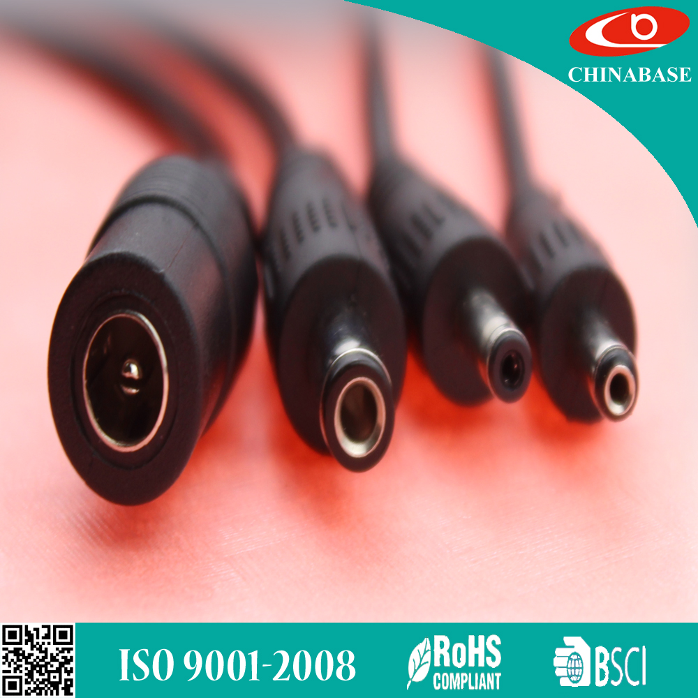 CHINABASE for Audio Video PVC jacket DC power cable