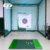 Golf mat/golf practice mat/golf carpet/mini golf/used golf mat With Long&Short Combination