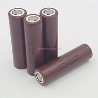 new arrive high drain LG18650HG2 3000mah 3.6v Li-ion battery for E-bike battery in stock