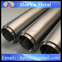high quality seamless astm b337 gr2 titanium tube