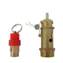 Professional brass auto safety valve for air compressor good quality