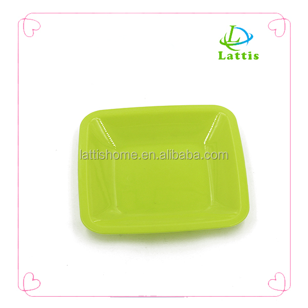 manufacturer cheap wholesale PP big dinner plastic plates/fruit plate