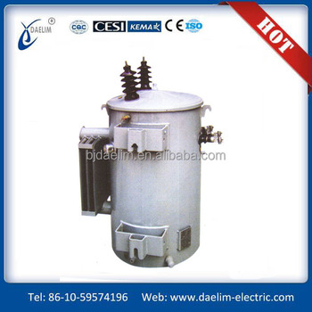 100kva single-phase pole-mounted distribution transformers with high quality and low price