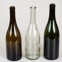750ml frosted glass wine bottle for red wine