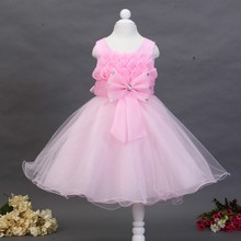 Kids Boutique Clothes Cheap Kids Pageant Baby Girls Prom Wedding Party Dresses L618