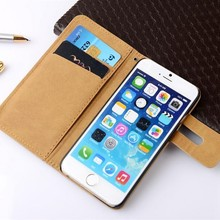 Premium Wallet Stand Filp Case For iphone 6 Card Holder Flip Cover Leather Case for iPhone 6s