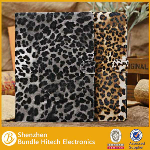 luxury fashion leopard case for ipad air accessory