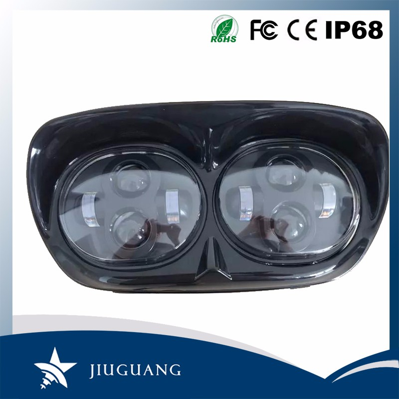 Super cool IP67 Led Headlight Motorcycle For Harley Road Glide