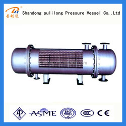 stainless steel industrial shell tube Heat Exchanger